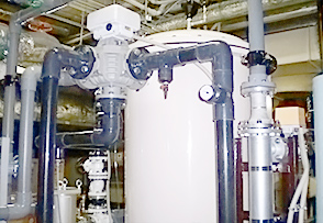 KSO型の機構・構成 (サンド式ろ過装置)